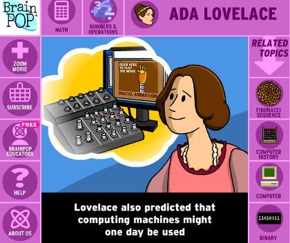 Ada Lovelace - BrianPOP