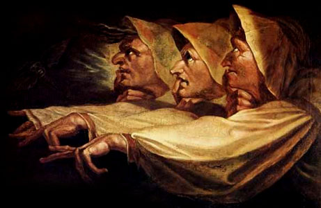 Le tre streghe di Johann Heinrich F�ssli