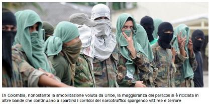Emergenza di un paramilitarismo mai morto