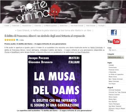 Il delitto di Francesca Alinovi: un simbolo degli anni Settanta al crepuscolo