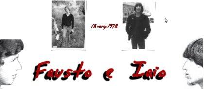 Fausto e Iaio - Il sito