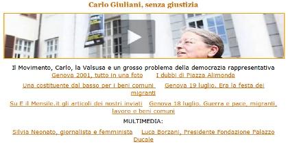 Genova 2001 - Lo speciale di Peacereporter e di E Il mensile di Emegency
