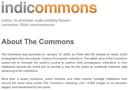 Indicommons blog