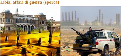 Libia, affari di guerra sporca