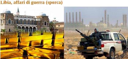 Libia, affari di guerra sporca