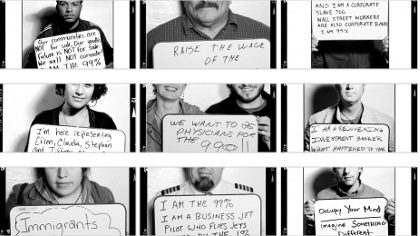 1,000 Portraits Of Occupy Wall Street Faces
