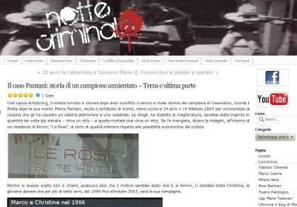 Il caso Pantani: storia di un campione annientato - Terza e ultima parte