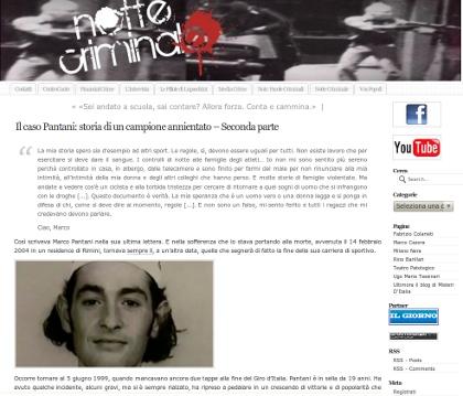 Il caso Pantani: storia di un campione annientato - Seconda parte