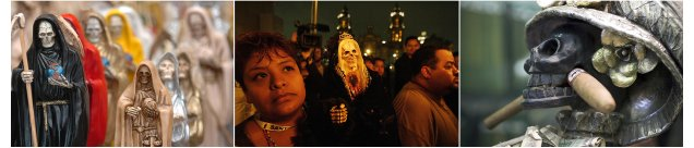 Santa Muerte. Mexico's cult of Holy Death