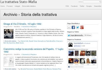 La trattativa Stato-Mafia