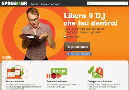 Spreaker - Radio show in diretta
