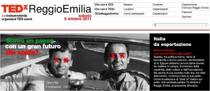 TEDx Reggio Emilia - Italia da esportazione