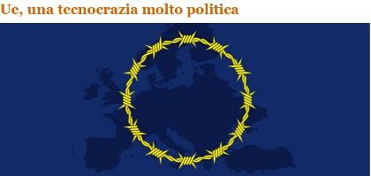 Peacereporter - Ue, una tecnocrazia molto politica