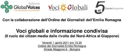Voci globali e informazione condivisa